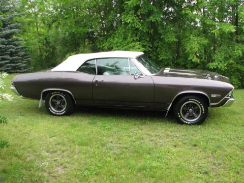 1968 Chevrolet Chevelle Convertible in Purple Spring