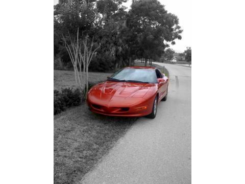1997 Pontiac Firebird Formula Coupe in Red Cayenne Metallic