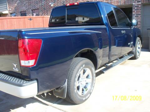 2006 Nissan Titan SE King Cab in Majestic Blue