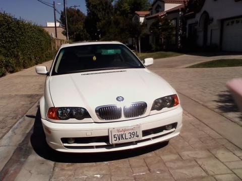 2000 BMW 3 Series 328i Coupe in Alpine White