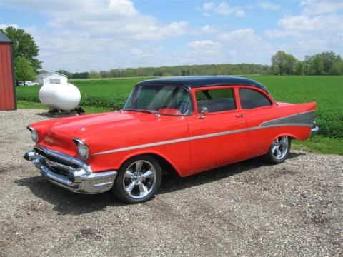 1957 Chevrolet 210 2 Door in Red