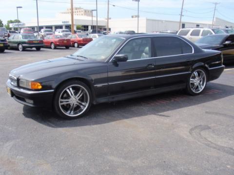 1998 BMW 7 Series 740iL Sedan in Black II