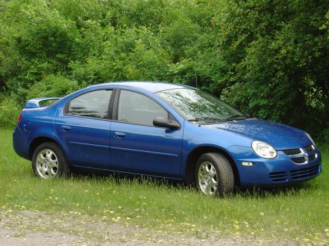 2004 Dodge Neon SXT in Electric Blue Pearlcoat