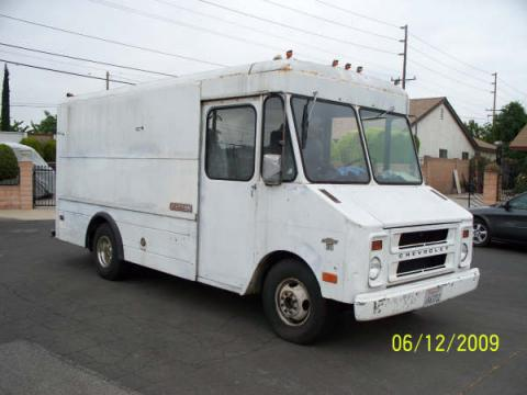 1973 Chevrolet Step Van  in White