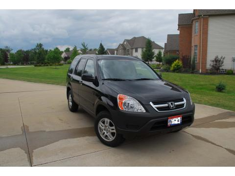 2003 Honda CR-V EX 4WD in Nighthawk Black Pearl
