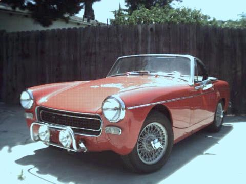 1967 MG Midget Roadster in Red
