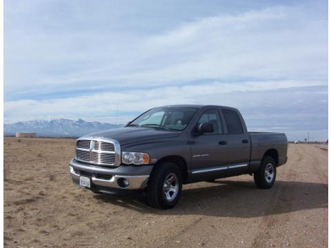 2005 Dodge Ram 1500 Laramie SLT Quad Cab 4X2 in Mineral Gray Metallic