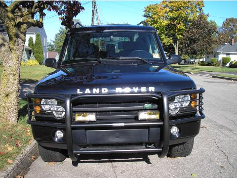 2003 Land Rover Discovery II SE in Black