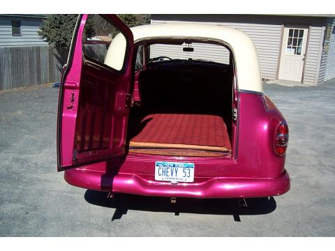 1953 Chevrolet 150 Sedan Delivery in Raspberry & Cream