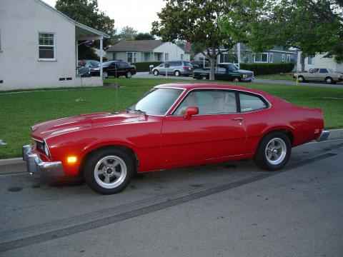 1974 Ford Maverick Grabber in Red