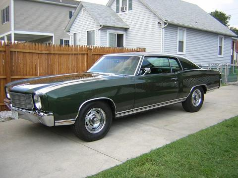 1970 Chevrolet Monte Carlo LS in Green