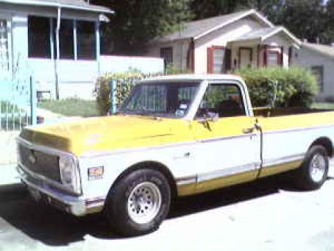 1972 Chevrolet C/K Cheyenne/10 in Beige