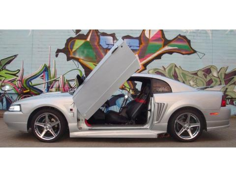 2002 Ford Mustang Roush Stage I Coupe in Satin Silver Metallic