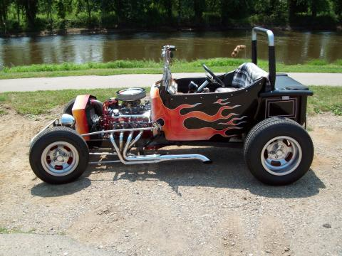 1923 Ford T Bucket  in Black