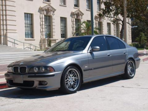 2002 BMW M5  in Sterling Grey Metallic