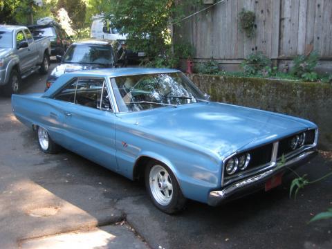 1966 Dodge Coronet 500 2 Door Hardtop in Blue