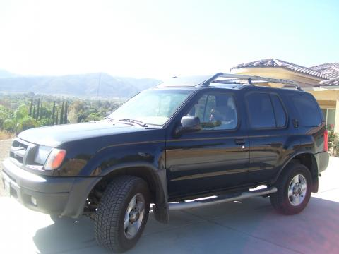 2001 Nissan Xterra SE V6 in Super Black