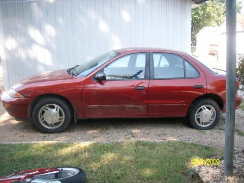 1998 Chevrolet Cavalier Sedan in Cayenne Red Metallic
