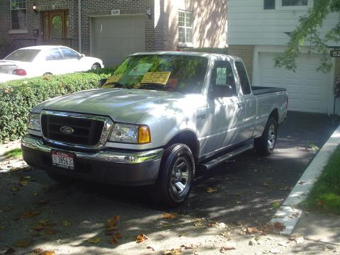 2004 Ford Ranger XLT SuperCab in Silver Metallic