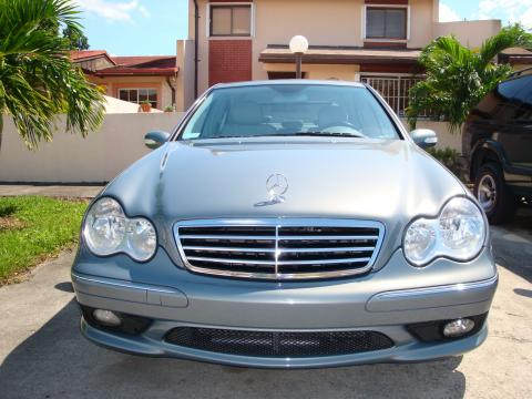 2006 Mercedes-Benz C 230 Sport in Granite Grey Metallic