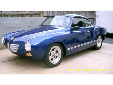 1968 Volkswagen Karmann Ghia Streetrod in Spectrum Blue