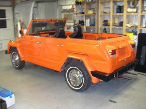 1974 Volkswagen Thing  in Clemson Orange