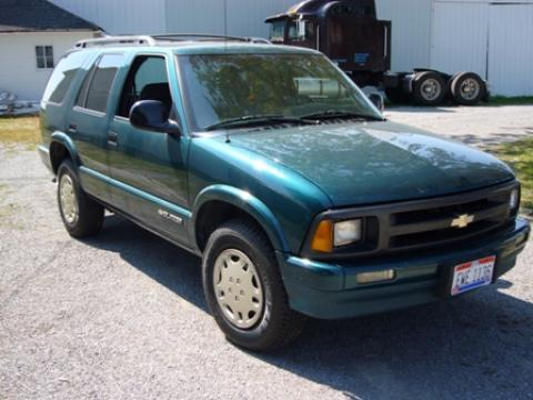 1996 Chevrolet Blazer LT in Emerald Green Metallic