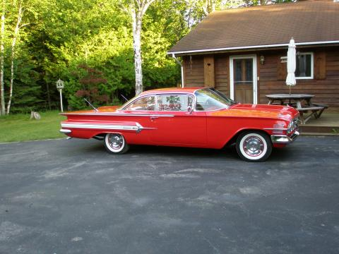 1960 Chevrolet Impala 2 Door Hardtop Coupe in Red