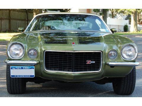 1973 Chevrolet Camaro LT ( Z28 Clone) in Green Gold