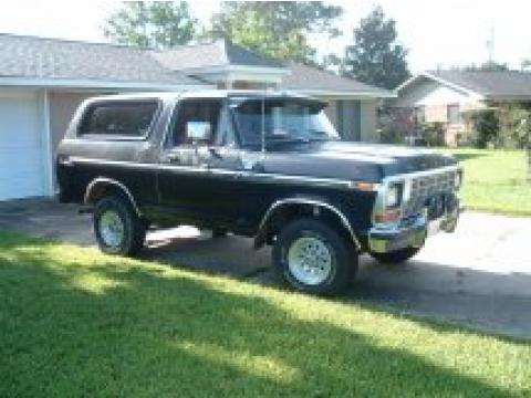1978 Ford Bronco Ranger XLT 4x4 in Black