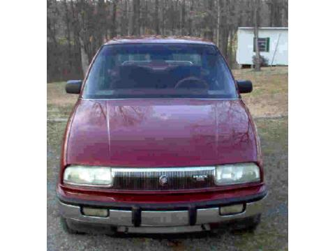1992 Buick Regal Gran Sport in Medium Garnet Red Metallic