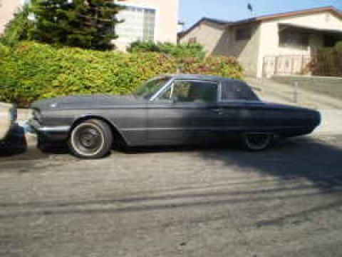 1966 Ford Thunderbird Landau in Black