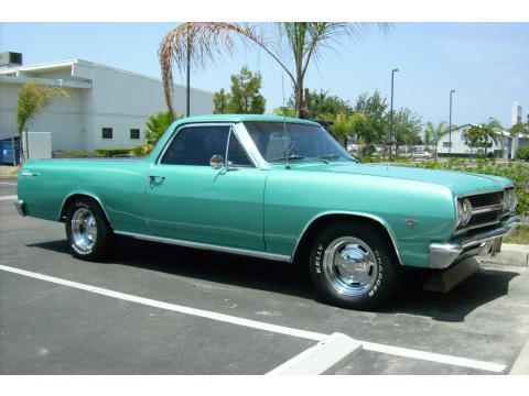 1965 Chevrolet El Camino  in Artesian Turquoise