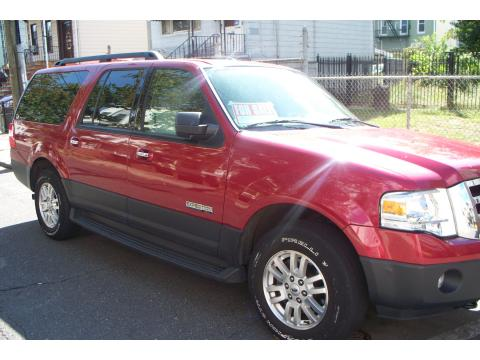 2007 Ford Expedition EL XLT 4x4 in Redfire Metallic