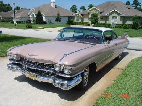 1959 Cadillac Series 62 Coupe in Wood Rose Metallic