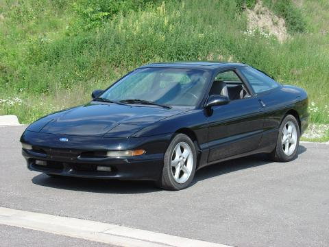 ford probe gt interior. Black 1993 Ford Probe GT with