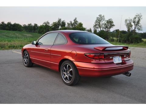 2002 Ford Escort ZX2 Coupe in Toreador Red Fire Mist Metallic