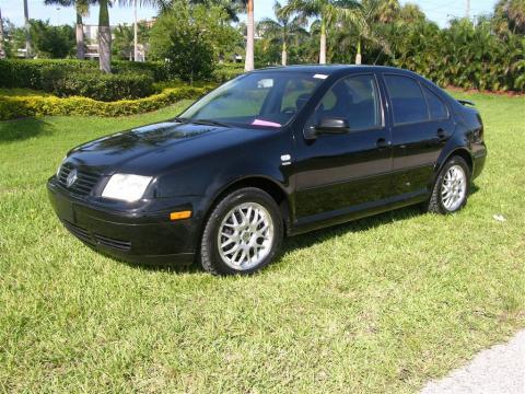 2001 Volkswagen Jetta Wolfsburg Edition Sedan in Black