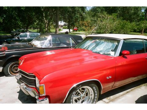 1972 Chevrolet Chevelle SS Convertible in Red