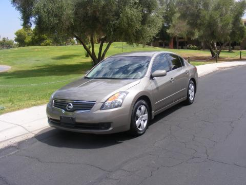 2007 Nissan Altima 2.5 S in Pebble Beach Metallic