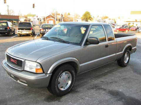 2003 GMC Sonoma SLS Extended Cab in Pewter Metallic