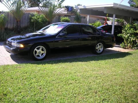 1996 Chevrolet Impala SS in Black