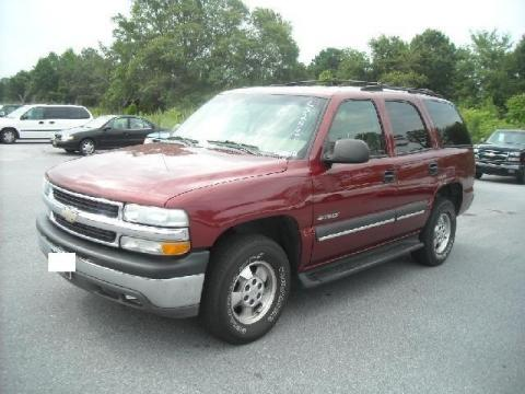 2002 Chevrolet Tahoe LT 4x4 in Redfire Metallic