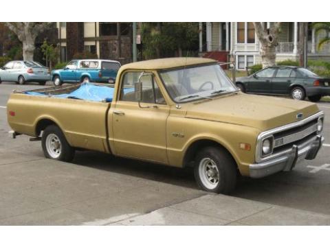 1969 Chevrolet C10  in Tan