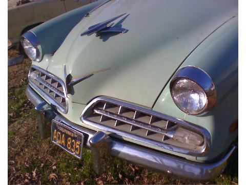 1954 Studebaker Champion 4 Door Sedan in Light Green