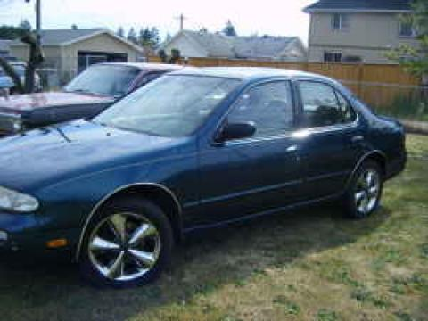1997 Nissan Altima GXE in Blue Emerald Pearl
