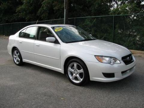 2008 Subaru Legacy 2.5i Sedan in Satin White Pearl