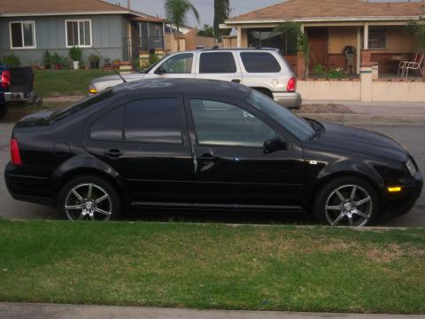 2000 Volkswagen Jetta GLS Sedan in Black