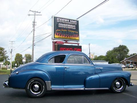 1948 Chevrolet Fleetmaster Street Rod in Atlantic Blue Pearl