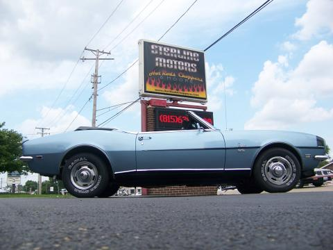 1968 Chevrolet Camaro RS/SS Convertible in Grotto Blue